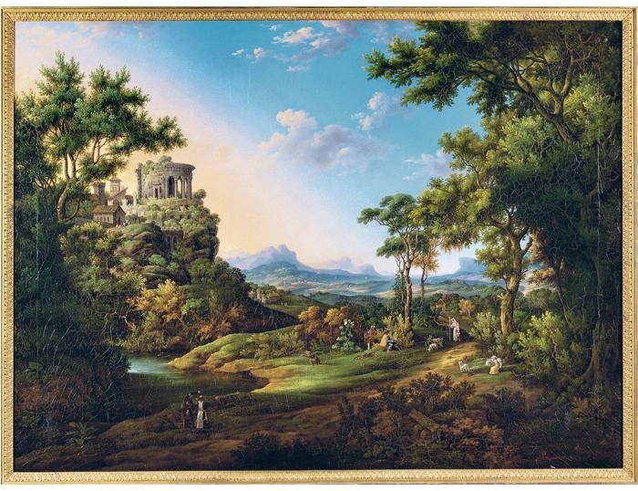 Johann Georg Primavesi (1774 -1855, Hofmaler in Mannheim, Darmstadt und Kassel),