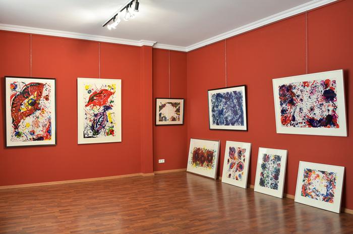 Spritzende Galerie